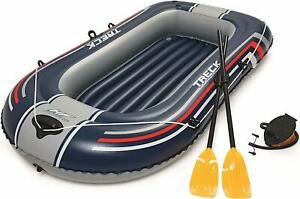 BESTWAY-90-034-HYDRO-FORCE-TRECK-X1-RAFT-DINGHY-SET-COMPLETE-WITH-OARS-AND-PUMP