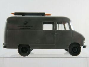 Brekina-OPEL-BLITZ-rapidamente-camion-1959-034-DBP-telecomunicazioni-servizio-034-1-87-h0-NUOVO