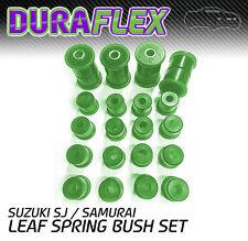 SUZUKI SJ / Samurai Leaf Spring Bushes Duraflex Polyurethane - Green