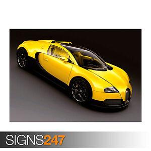 bugatti veyron grand sport 0311 car poster poster print art a0 a1 a2 a3 a. Black Bedroom Furniture Sets. Home Design Ideas