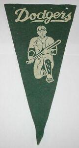 RARE-1940-039-s-11-034-x-6-034-Baseball-Brooklyn-Dodgers-National-Champions-Pennant