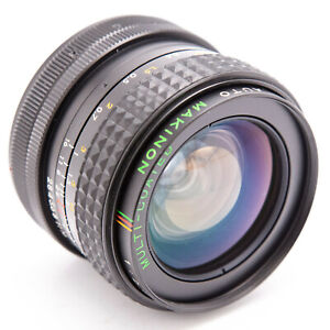 Makinon 24mm f2.8 manual focus prime lens Canon FD mount (not for EOS / EF)
