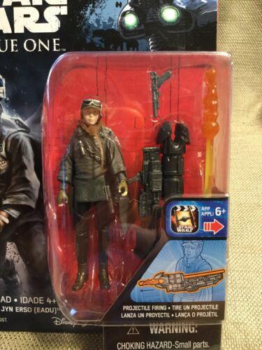 "3.75/"" Figure - Sealed Sergeant Jyn Erso Eadu Star Wars: Rogue One"