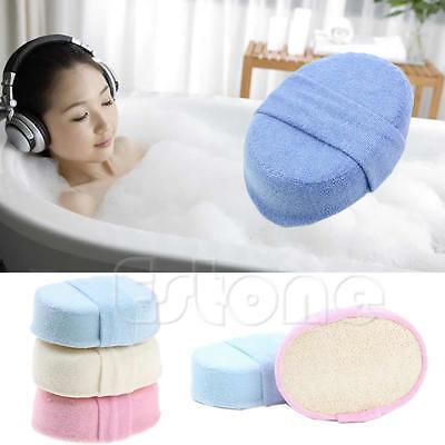 1Pc Natural Bath Shower Sponge Loofah Luffa Spa Exfoliator Pad Body Scrubber