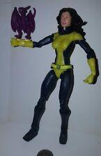 "Marvel Legends Kitty Pryde Lockheed X-Men 6"" Action Figure Loose Toy Biz 2005"