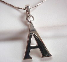 "The Letter ""A"" Pendant 925 Sterling Silver Corona Sun Jewelry a"
