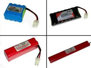 RC Toys Akkus AA 9.6V1500 mAh, mehrere Optionen zur Auswahl ...