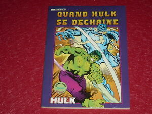 [ Bd Marvel Comics Francia Aredit] Hulk Pocket Color #2-1982 Hulk Se Unleashed