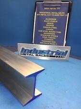 I Beam 6061 T6 Aluminum 3 X 170 X 233 X 24 Long