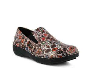 Spring Step Ferrara Slip Resistant Clog Leather Womens Clogs