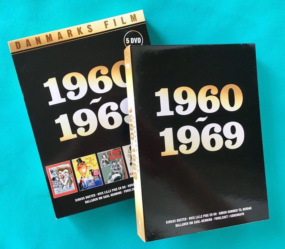 Fem Nordisk film klassikere 1960-1969 (5DVD), DVD,