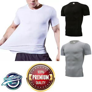 Stretchrite-Men-039-s-Compression-T-shirt-Premium-Quality
