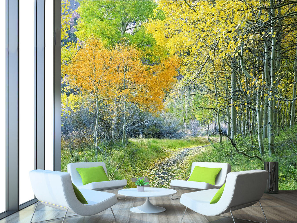 3D Forest Tree Fresh Nature 157 Wall Paper Wall Print Decal Wall AJ WALLPAPER CA