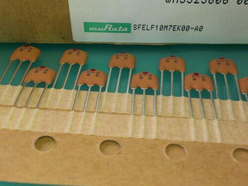 3 trozo Murata filters 10,7mhz BW - 3db m8745 = 330khz sfelf 10m7ek