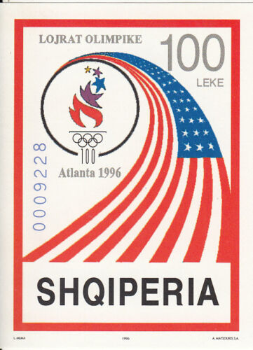 Albania MNH Sc 2514 Mi 2597 Bk 108 Olympics