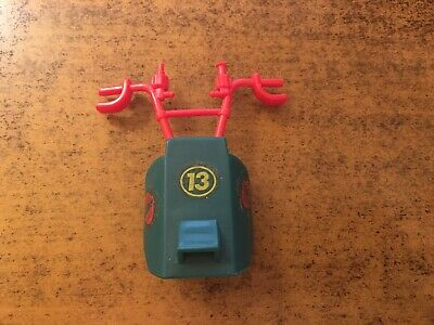 1987 GI Joe Cobra Dreadnok Tri-Cycle Cycle Red Side Door Screen Cage Part