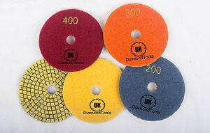 Premium-100mm-4-034-Copper-bonded-Diamond-Polishing-pads-Granite-Marble-Concrete-UK