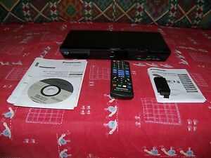 Panasonic-dmp-bd79-lettore-blu-ray-con-wireless-LAN-adaptor-dy-wl5-originale