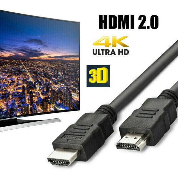 1 M Long Premium Ultrahd Câble Hdmi V2.0 Haute Vitesse 4k 2160p 3d Plomb Ps4