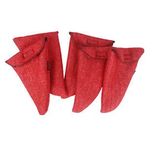 Tourbon-Handgun-Socks-Pistol-Sleeves-Silicone-Treated-Barrel-Holder-2-3-5-Packs