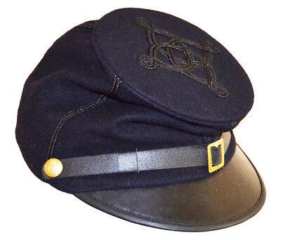 Antietam Civil 59cms 58 LARGE Forage Union American War Cap Captains gaqwTHT