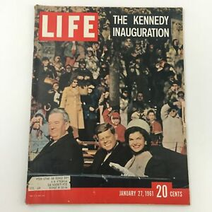 VTG Life Magazine January 27 1961 The John F. Kennedy Inauguration Feature