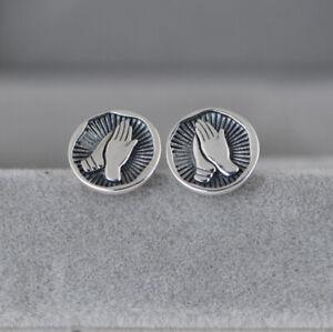 I13 Ohrring Ohrstecker Fliege Sterling Silber 925