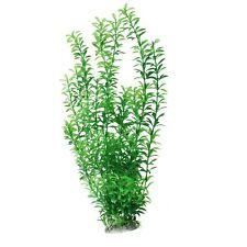 Plastic Underwater Aquarium Grass Plant Decor 18.5 inches Green