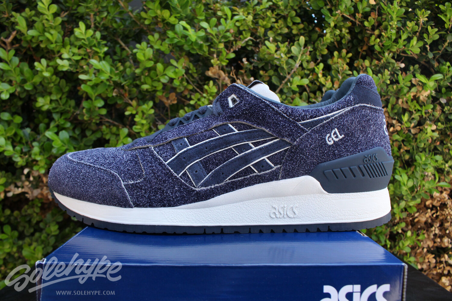 ASICS GEL RESPECTOR SZ 8.5 4TH OF JULY INDEPENDENCE PACK INDIA INK H6U3L 5050