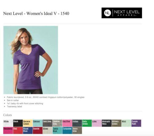 xl Ok To 50 a Blank scollo Next S con Level donna Mix Ingrosso Bulk V ideale Maglietta da Lot 6qUwq