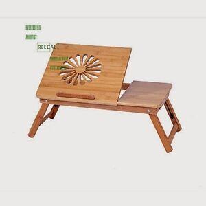 Tavolo da letto per notebook pc tablet in legno grezzo - Letto portatile ...