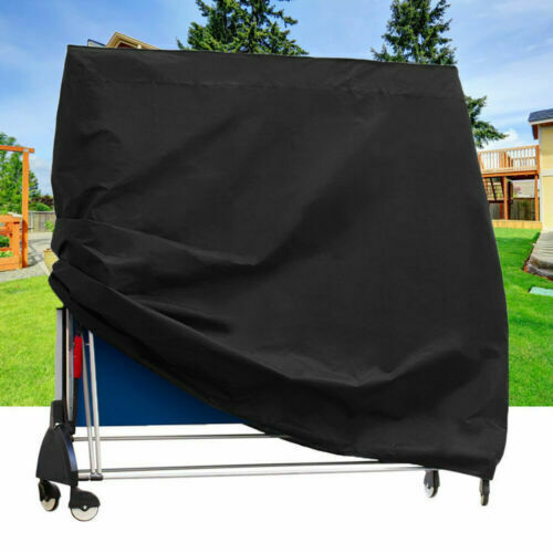 Extra Large Ping Pong Tennis Table Cover Protector 210D Waterproof 165x70x185cm