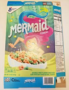 General-Mills-Mermaid-Cereal-Flat-Empty-Box