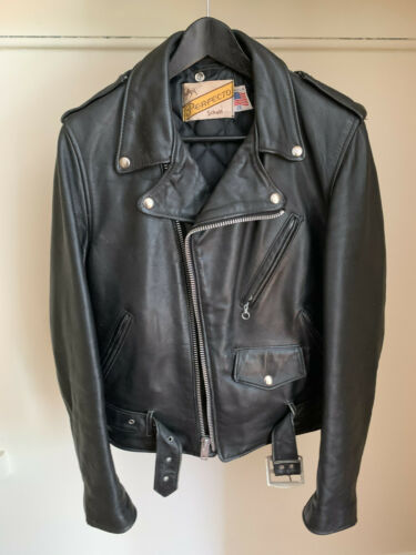 Schott Perfecto 618 38 Motorcycle Steerhide Leathe
