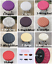 """14/"""" Bar Stool Covers Round Chair Seat Cover Cushions Sleeve 10 Color Dental"""