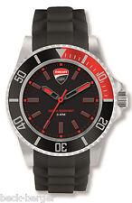 DUCATI Corse RACE Horloge À Quartz Montre-bracelet rouge neuf 2017