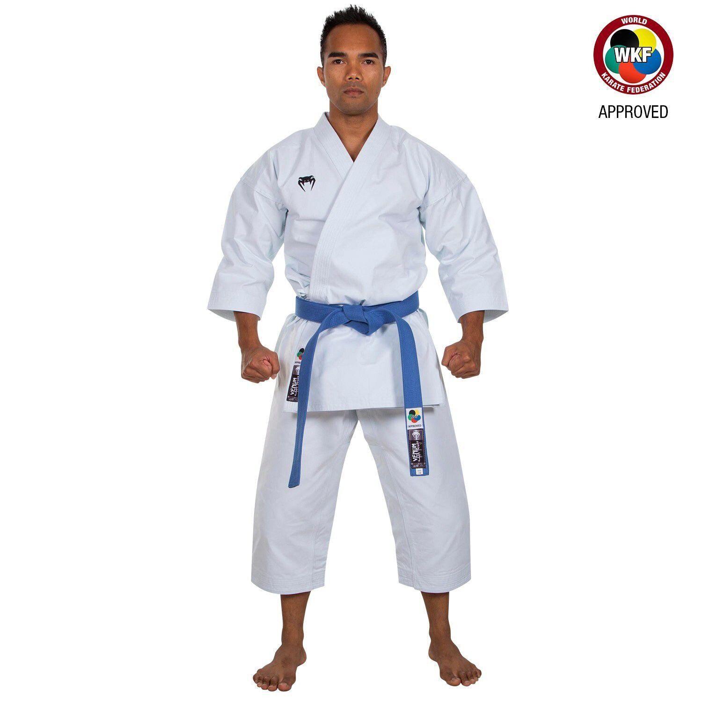 Venum Elite WKF Approved Karate Kata Gi Cotton Suit Weiß Adult Uniform