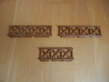 CALICO CRITTERS Lakeside Lodge Cabin House set of 3 replacement brown railings