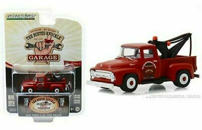 Greenlight 1:64 LOOSE Busted Knuckles Garage 1956 FORD F-100 Tow Truck Wrecker