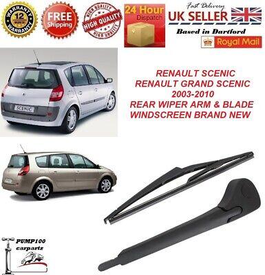 "2003-2010 16/"" MPV 1.6 16V Rear Wiper Blade For Opel Meriva"