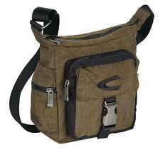 Camel Active Journey Shoulder Bag Tasche Umhängetasche Grün Khaki Zipper Herren