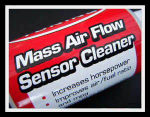 Details about Mass Air Flow Meter MAF sensor cleaner - new - for ALL CARS