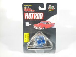 Racing-Champions-Hot-Rod-Magazine-1-144-Mini-Hot-Rod-1949-Ford-NEW-NOC