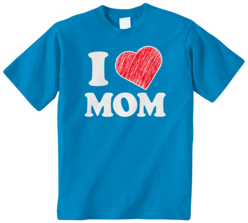 I Heart Mom Kids Youth T-Shirt Tee Love Mother Day Cute Family Loving