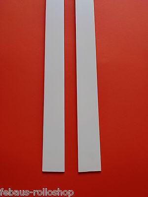 "/""2,07€//m/"" 6m Kunststoffleiste Flachleiste weiß 60mm 2,5mm stark  Fensterleiste"
