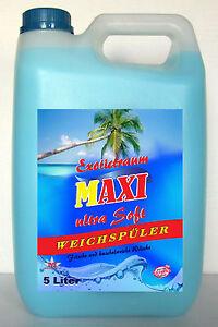 4 x 5liter weichsp ler exotictraum kostenloser versand ebay - Fenster putzen mit weichspuler ...