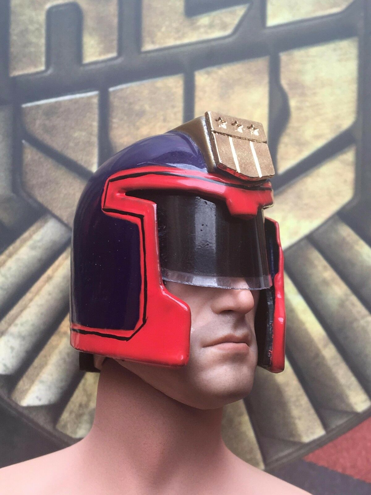 Xensation judge drotd 1995 metall helmeted sculpt sly stallone locker 1   6 - skala