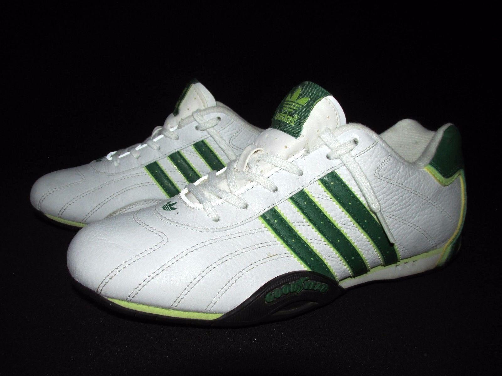 Adidas 2006 drei streifen weißen grünem leder adidas team Damens 's uns 6m