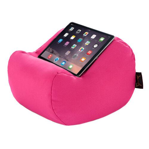 Rose etanche tablette book lap repos coussin bean sac coussin support iPad Kindle