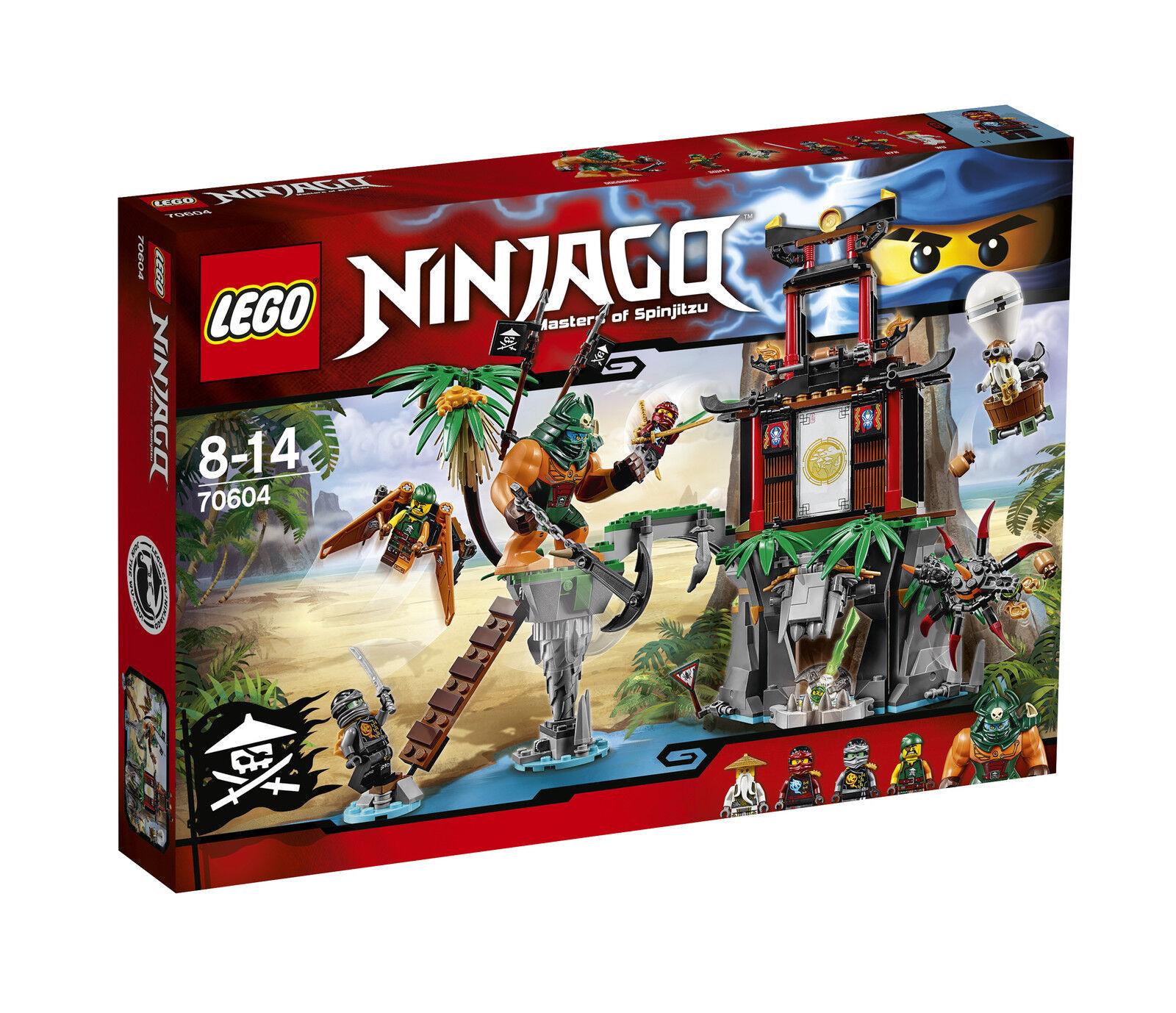 Lego ® Ninjago ™ 70604 las viudas negras-isla OVP _ tiger Widow Island New misb